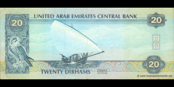 Emirats Arabes Unis - p28a - 20 Dirhams - 2007 - United Arab Emirates Central Bank