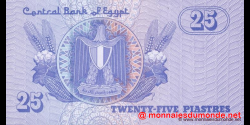 Egypte - p57k - 25 piastres - 24.12.2008 - Central Bank of Egypt