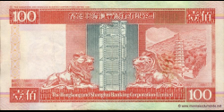 Hong Kong - p203d - 100 Dollars - 01.01.2001 - Hong Kong and Shanghai Banking Corporation Limited