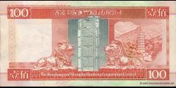 Hong Kong - p203d - 100 Dollars - 01.01.2001 - Hong Kong and Shanghai Banking Corporation Limited