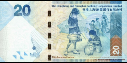 Hong Kong - p212a - 20 Dollars - 01.01.2010 - Hong Kong and Shanghai Banking Corporation Limited