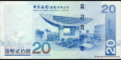 Hong Kong - p335a - 20 Dollars - 01.07.2003 - Bank of China (Hong Kong) Limited