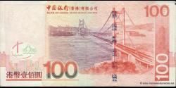 Hong Kong - p337a - 100 Dollars - 01.07.2003 - Bank of China (Hong Kong) Limited
