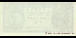Hong Kong - p321 - 1 Cent - ND (1945) - Government of Hong Kong