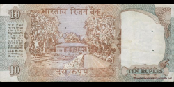 Inde - p088e - 10 Roupies - ND (1992 - 1996) - Reserve Bank of India