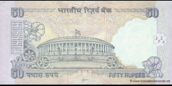 Inde - p097f - 50 Roupies - 2010 - Reserve Bank of India
