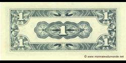 Indes Néerlandaises - p119b - 1 Cent - ND (1942) - De Japansche Regeering