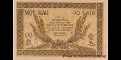 Indochine - p089a - 10 cents - ND (1942) - Gouvernement Général de l'Indochine