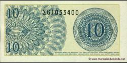 Indonésie - p092 - 10Sen - 1964 - Bank Indonesia