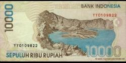 Indonésie - p137e - 10.000 Roupies - 1998 / 2002 - Bank Indonesia