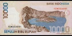 Indonésie - p137h - 10.000 Roupies - 1998 / 2005 - Bank Indonesia