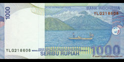 Indonésie - p141d - 1.000 Roupies - 2000 / 2003 - Bank Indonesia