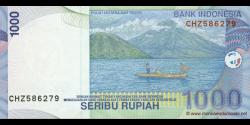 Indonésie - p141f - 1.000 Roupies - 2000 / 2005 - Bank Indonesia