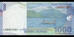 Indonésie - p141h - 1.000 Roupies - 2000 / 2007 - Bank Indonesia