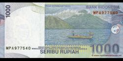 Indonésie - p141i - 1.000 Roupies - 2000 / 2008 - Bank Indonesia