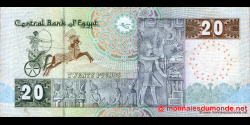 Egypte - p65b - 20 pounds - 27.11.2002 - Central Bank of Egypt