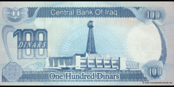 Iraq - p84a1 - 100 Dinars - 1994 - Central Bank of Iraq