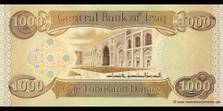Iraq - p93a - 1.000 Dinars - 2003 - Central Bank of Iraq