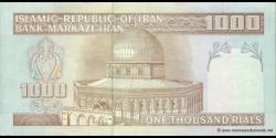 Iran - p143d - 1.000Rials - ND (1992 - 2014) - Bank Markazi Iran