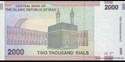 Iran - p144d - 2.000 Rials - ND (2005 - 2013) - Central Bank of the Islamic Republic of Iran