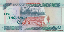 Ghana - p34j - 5.000 Cedis - 04.08.2006 - Bank of Ghana