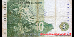 afrique du sud - p123a - 10 rand - ND (1993 - 1999) - Suid - Afrikaanse Reserwebank / South African Reserve Bank
