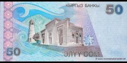 Kirghizistan - p20 - 50Som - 2002 - Kyrgyz Banky