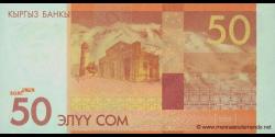 Kirghizistan - p25 - 50Som - 2009 - Kyrgyz Banky