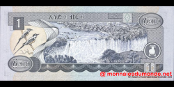 Éthiopie - p46b - 1 birr - 2000 - National Bank of Ethiopia