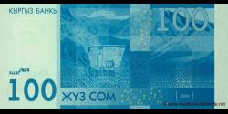Kirghizistan - p26 - 100Som - 2009 - Kyrgyz Banky