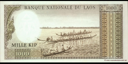 Laos - p14b - 1.000 Kip - ND (1963) - Banque Nationale du Laos