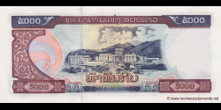 Laos - p34b - 5.000 Kip - 2003 - Bank of the Lao Peoples Democratic Republic