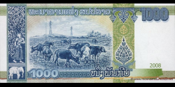 Laos - p39 - 1.000 Kip - 2008 - Bank of the Lao Peoples Democratic Republic