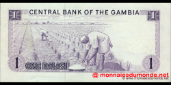 Gambie - p04f - 1 dalasi - 1986 - Central Bank of The Gambia