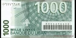 Liban - p84a - 1.000Livres - 2004 - Banque du Liban