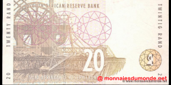 afrique du sud - p124b - 20 rand - ND (1993 - 1999) - Suid - Afrikaanse Reserwebank / South African Reserve Bank