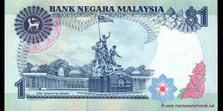 Malaisie - p27b - 1 Ringgit - ND (1989) - Bank Negara Malaysia