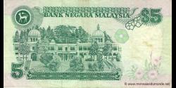 Malaisie - p28a - 5 Ringgit - ND (1986) - Bank Negara Malaysia