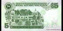Malaisie - p35A - 5 Ringgit - ND (1998) - Bank Negara Malaysia