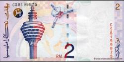 Malaisie - p40a - 2Ringgit - ND (1996) - Bank Negara Malaysia