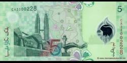 Malaisie - p47 - 5 Ringgit - ND (2004) - Bank Negara Malaysia