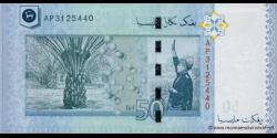 Malaisie - p50 - 50 Ringgit - ND (2009) - Bank Negara Malaysia