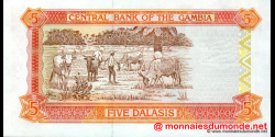 Gambie - p20b - 5 dalasis - 2003 - Central Bank of The Gambia