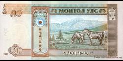 Mongolie - p64a - 50Tögrög - 2000 - Mongolbank