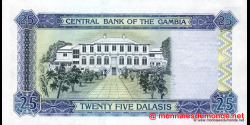 Gambie - p22c - 25 dalasis - 2001 - Central Bank of The Gambia