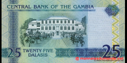 Gambie - p27(1) - 25 dalasis - 2006 - Central Bank of The Gambia