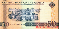 Gambie - p28(2) - 50 dalasis - 2009 - Central Bank of The Gambia