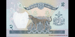 Nepal - p29b4 - 2 Roupies - ND (2000 - 2001) - Nepal Rastra Bank