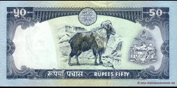 Nepal - p33c2 - 50 Roupies - ND (2000 - 2001) - Nepal Rastra Bank