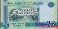 Gambie - p27(3) - 25 dalasis - 2013 - Central Bank of The Gambia
